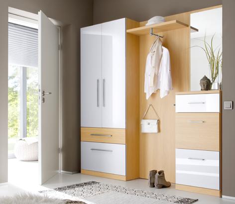 garderobe mit schiebetr good garderobe buche fr flur mbelset kompakt spiegel schiebetr. Black Bedroom Furniture Sets. Home Design Ideas